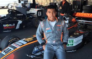 Jaden Conwright, motorsports racing