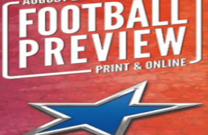 SportStars Magazine High School Football Preview special edition includes rankings, player watch, sports profiles