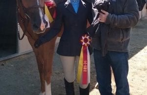 Equestrian Gabrielle Burshteyn SportStar of the Week