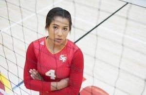 Volleyball: Alexa Edwards' Smash Hit