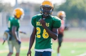 Tariq Bracy Milpitas Football
