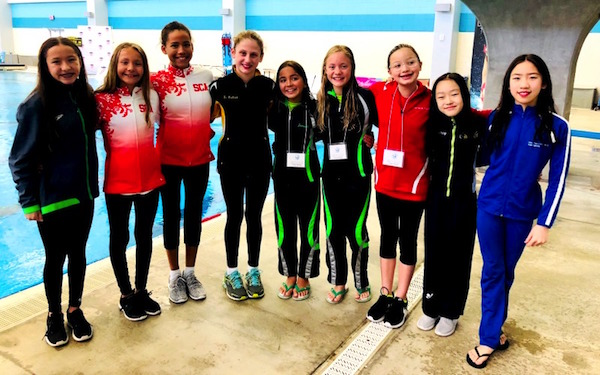national synchronized swimming teams 2018