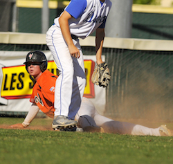 Vacaville Baseball wins first section title.