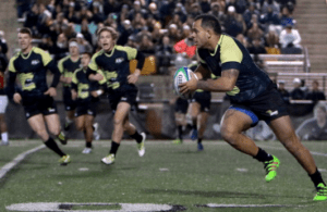 Rugby a battle of the fittest