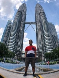 Jaden Conwright at Petronas Towers Kuala Lumpur during FIA Asian Formula 3 Championship car races at Sepang F1 Circuit