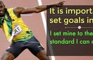 how to Set a sports goal and be better