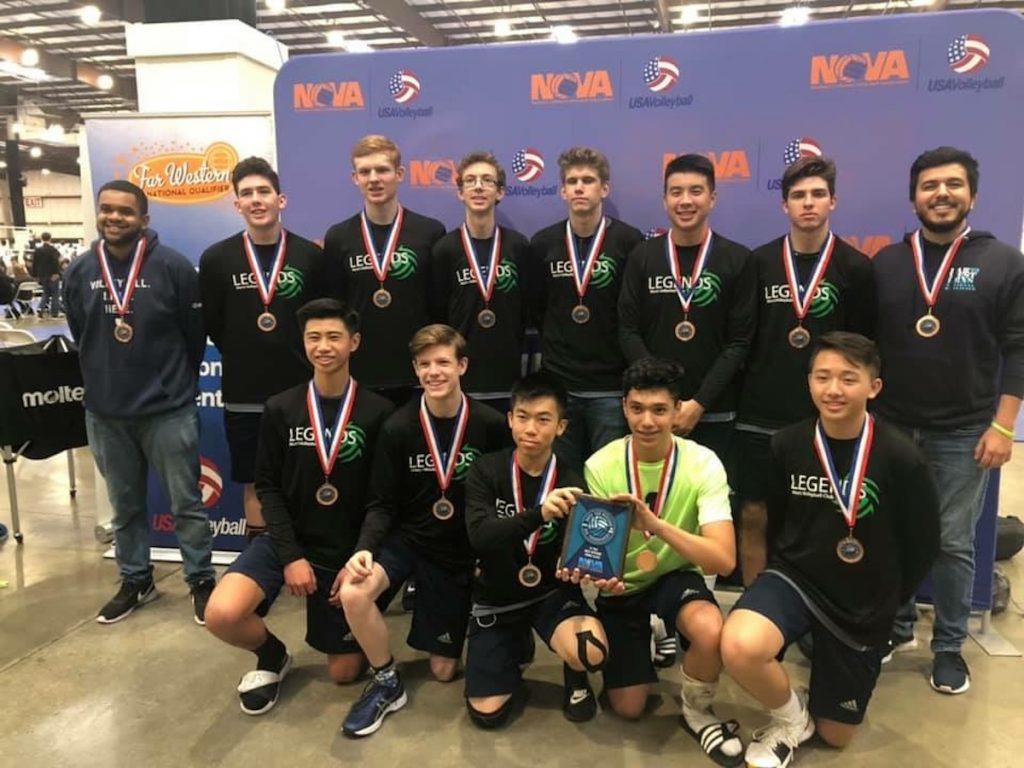 Legends, Volleyball, NCVA, Sacramento