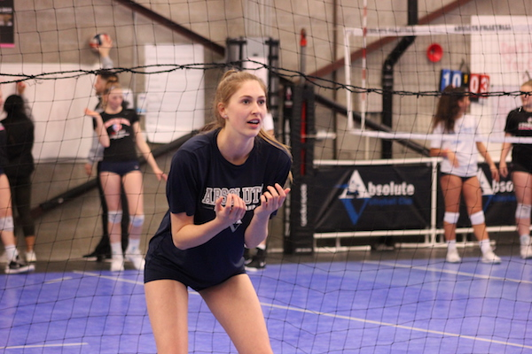 Kari Geissberger, Marin Catholic, Volleyball