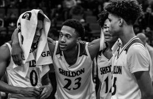 Sheldon Basketball, State Championship, Marcus Bailey