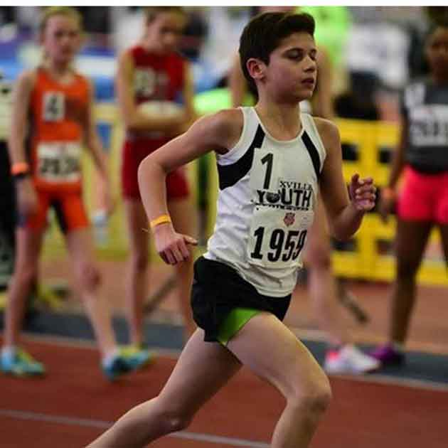 Keegan Smith Takes Down Record at AAU Indoor Nationals