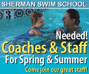 Sherman Swim Center. Swim classes, diving and summer jobs
