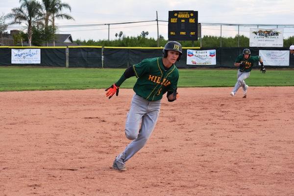 Treven Crowley, Hilmar Baseball