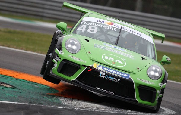 Serving Up Jaden's Porsche Cup: Conwright scoops double helping of silverware on stunning sportscar debut