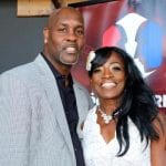 NBA and WNBA Hall of Fame backcourt, Gary Payton and Ruthie Bolton-Holyfield posing on the Red Carpet!