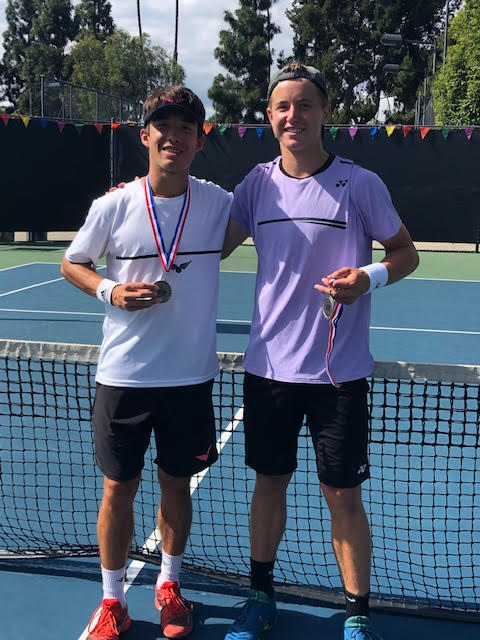 USTA National Boys' 16 Level 3 tournament – Anaheim, CA: Jake Vassel and Ryan Morgan.