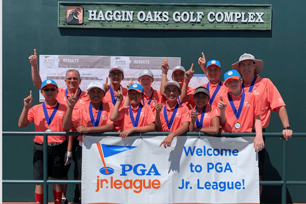 The San Ramon All-Stars (aco-ed team of junior golfers, ages 13 and under) won the Nor Cal PGA Jr. League Section Championship