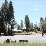 Camp grounds at NCSTV Summer Basketball Camp OVERNIGHT 5 DAY BASKETBALL CAMP IN THE SIERRA FOOTHILLS