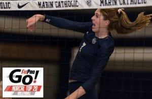 NorCal Volleyball Rankings, Marin Catholic