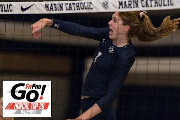 NorCal Volleyball Rankings, Marin Catholic