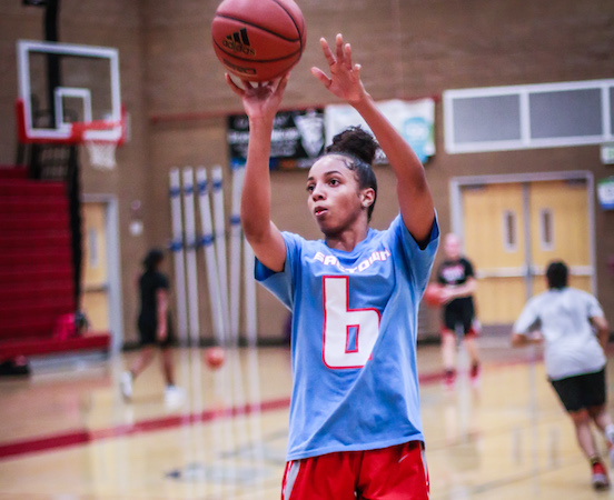 Jzaniya Harriel, Antelope basketball